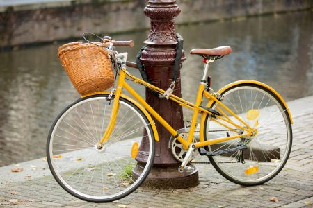 Dag 1. Een fiets of een slot?